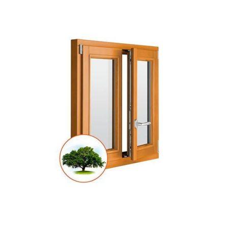деревянные окна из дуба на заказ