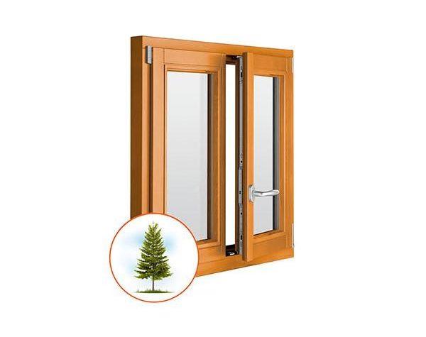 деревянные окна на заказ лиственница