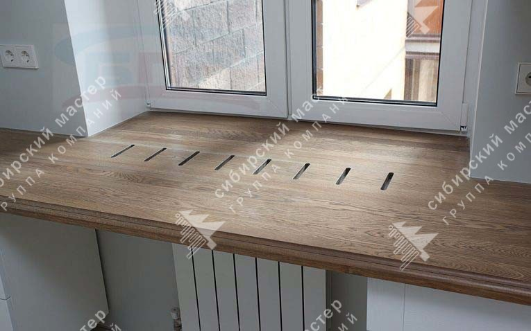 деревянные подоконники цена